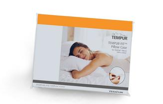 TEMPUR® Jerseybezug Orange - Auslaufmodell für Symphony Schlafkissen