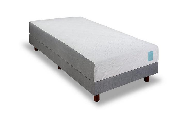Micro-Tech™ boxspring vlak - 90 x 200 cm - Light Brown