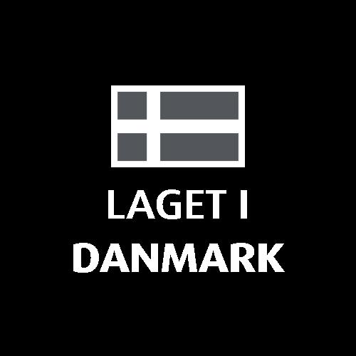 Produsert i Danmark