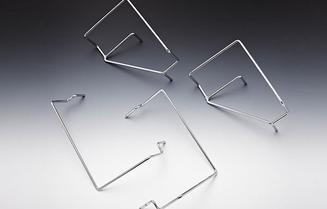 TEMPUR® Matratzenhaltersatz Chrom für die Flex Hybrid Systemrahmen