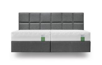 Jubiläumsaktion Boxspring Bett 180x200 inkl. 2x 90x200 cm Matratzen Hybrid Supreme 21 cm