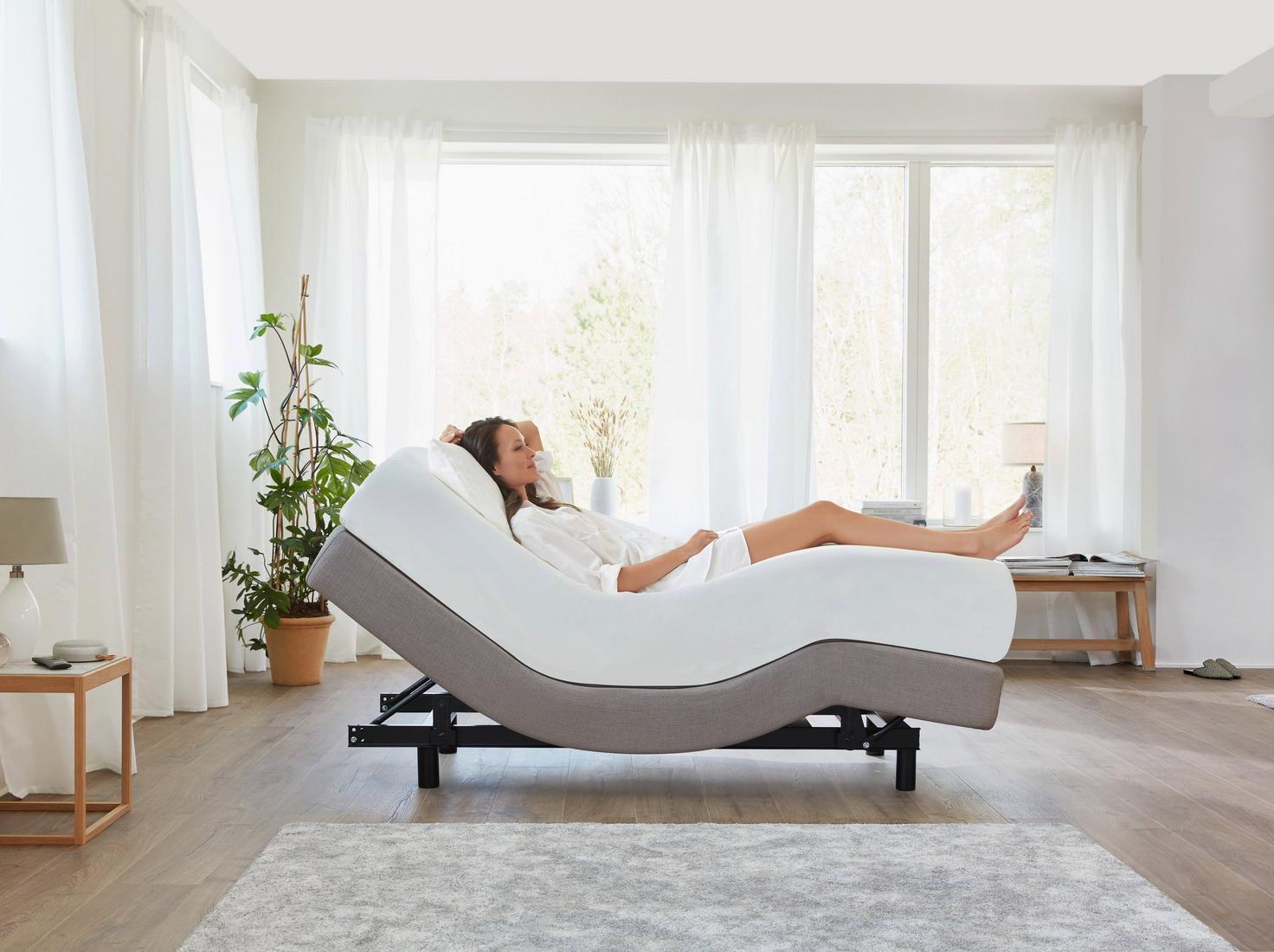 The Zero G Lifestyle Adjustable Bed Base Tempur Sg