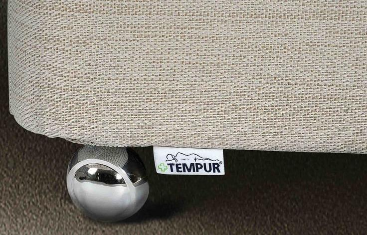 TEMPUR® Ardennes Adjustable Massage Drawer Divan (Long Single)