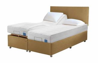TEMPUR® Ardennes Adjustable Massage Drawer Divan (King Size)