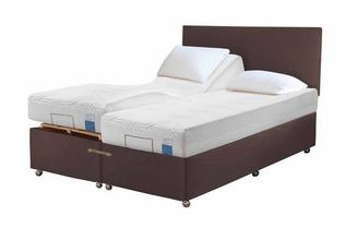 TEMPUR® Ardennes Adjustable Massage Divan (Long Small Double)