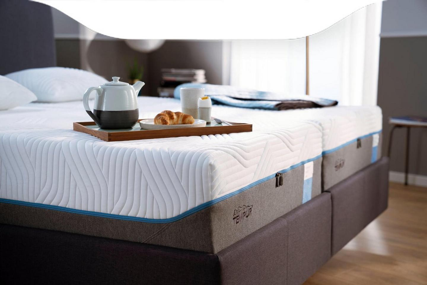 Tempur soft cloud mattress range