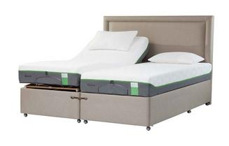 TEMPUR® Moulton Adjustable Massage Divan (Long Single)