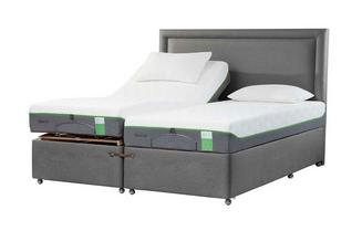 TEMPUR® Moulton Adjustable Massage Divan (King Size)
