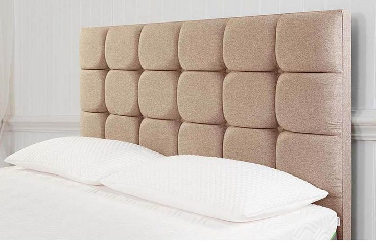 TEMPUR® Moulton Buttoned Headboard (Single)