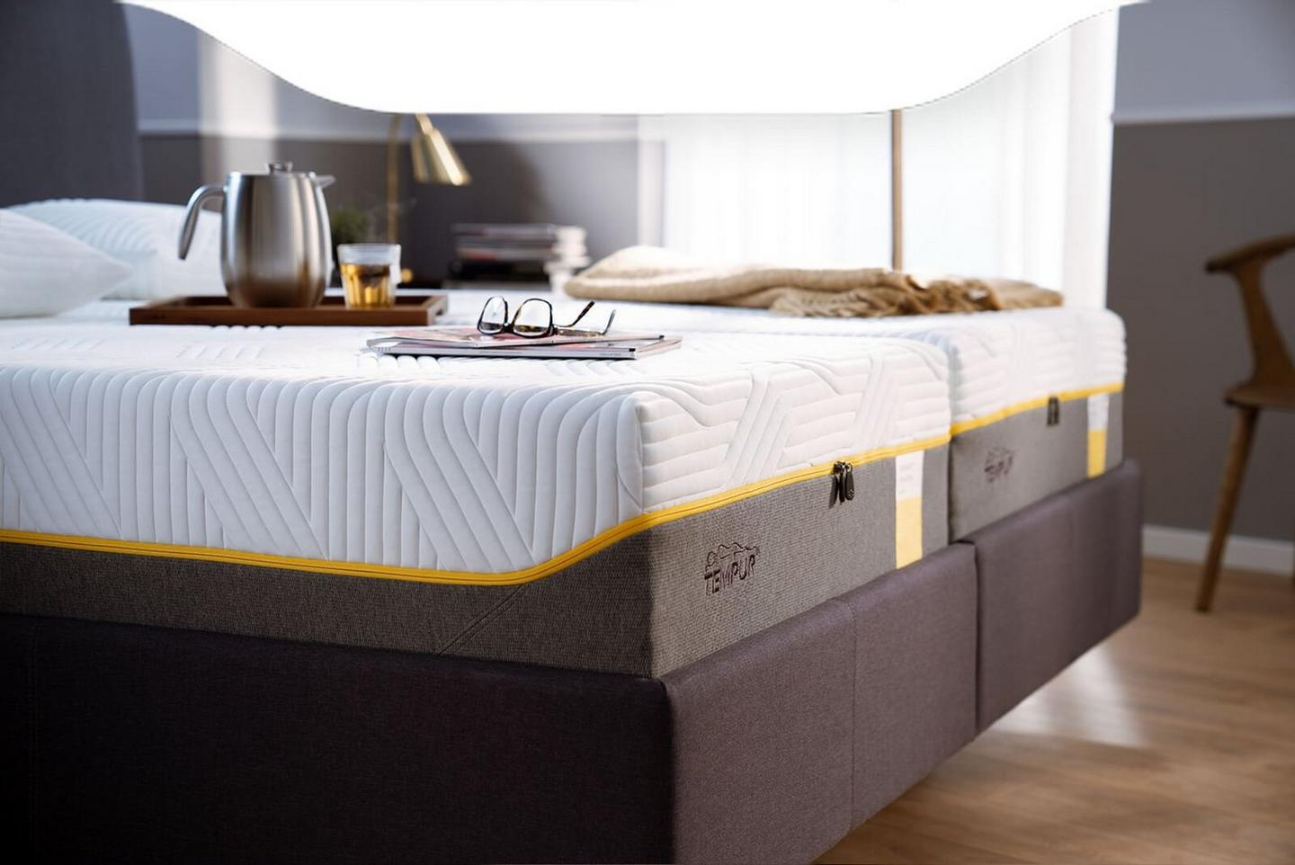 Tempur firm sensation mattress range