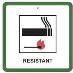Fire Resistant Label