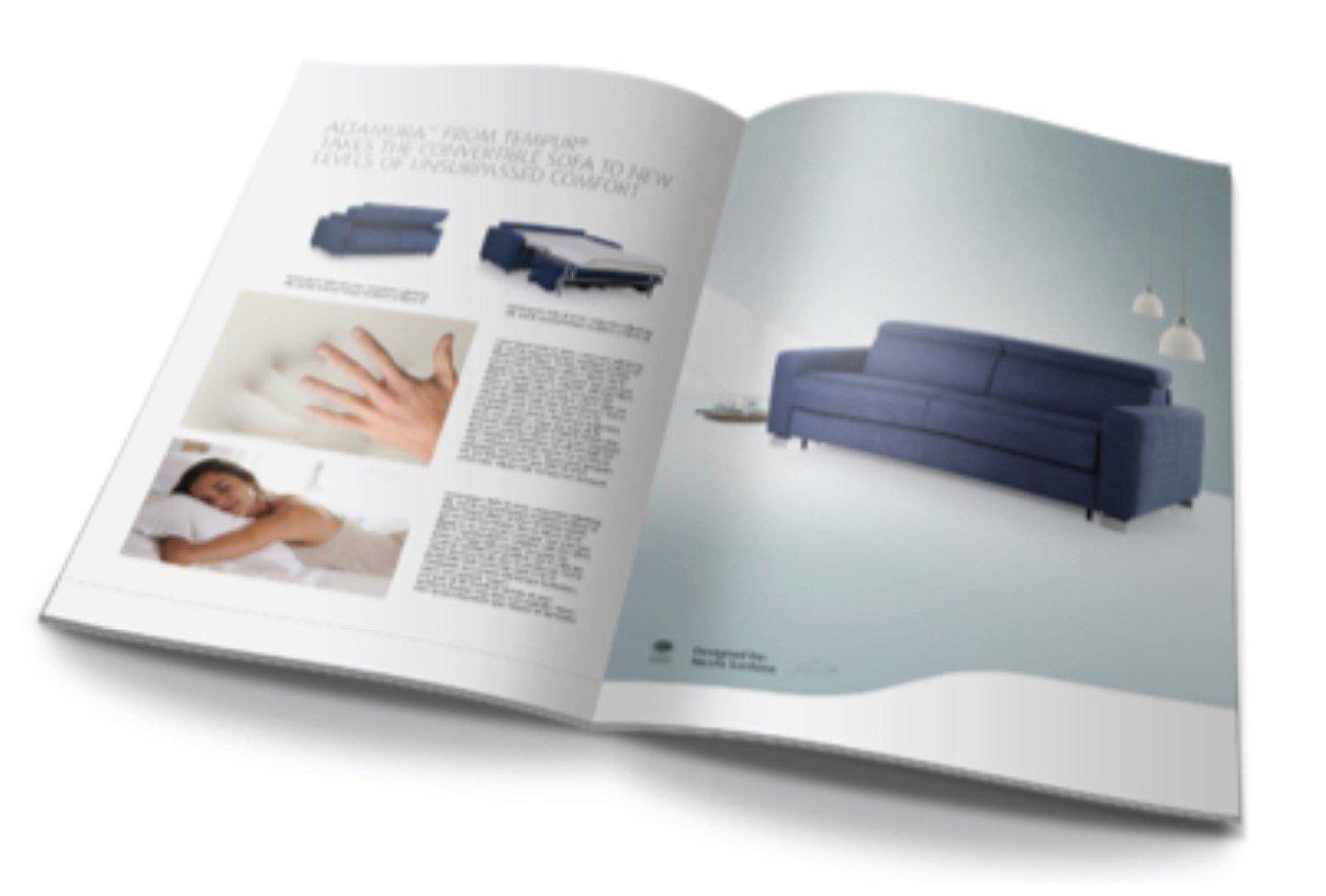 Sofa-Broschüre